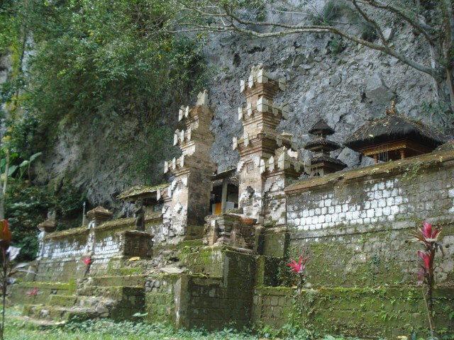 Abandoned Gunung Sari temple in Karangasem