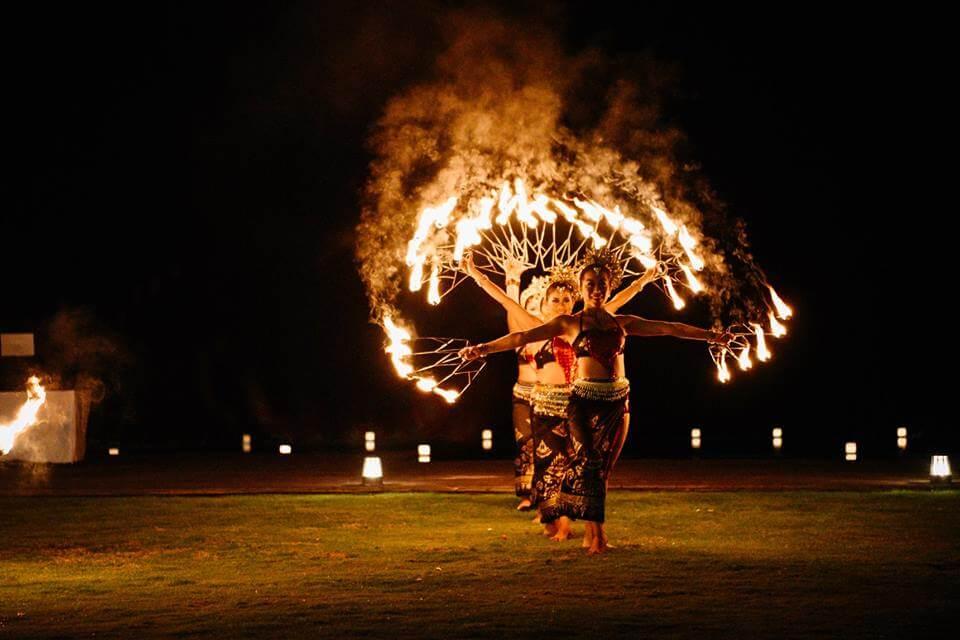 Bali Fire Dancers