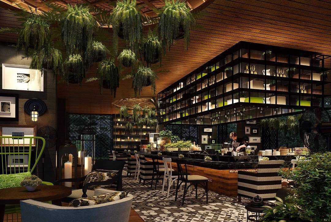 The Tree Bar at Hotel Indigo Bali