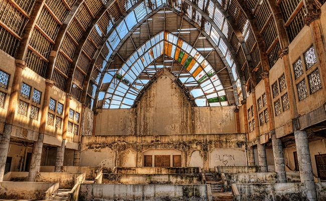 Abandoned Amusement Park Taman Festival