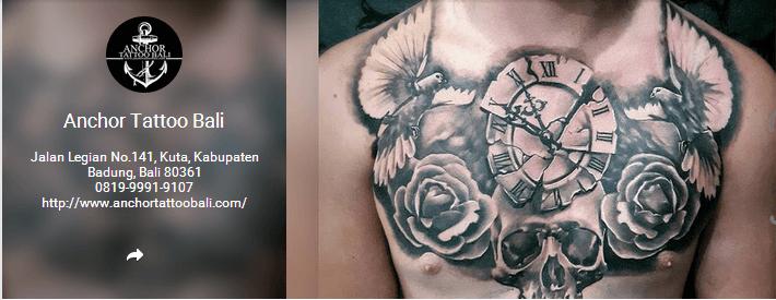 Anchor Tattoo Bali
