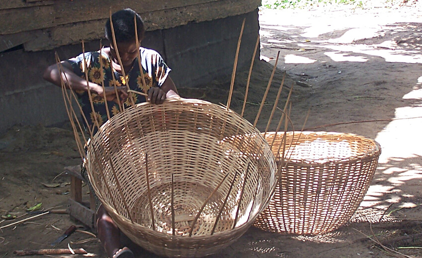 Lontar leaves Weaving Workshop