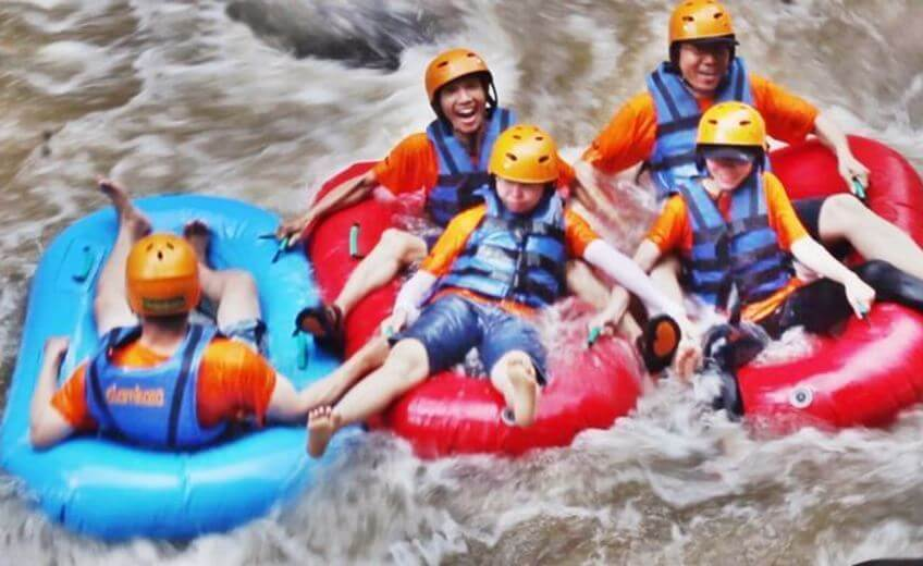 Tubing On The Ayung River