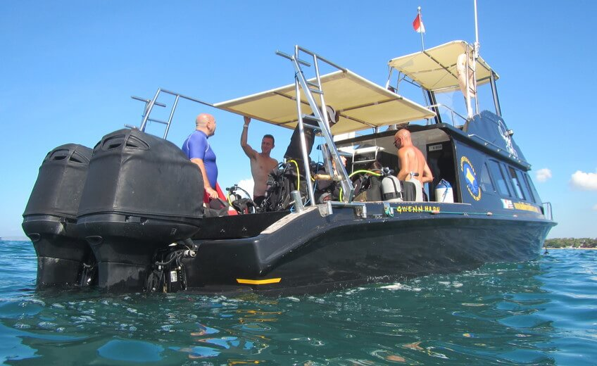 Private Diving Boat Around Nusa Lembongan & Nusa Penida