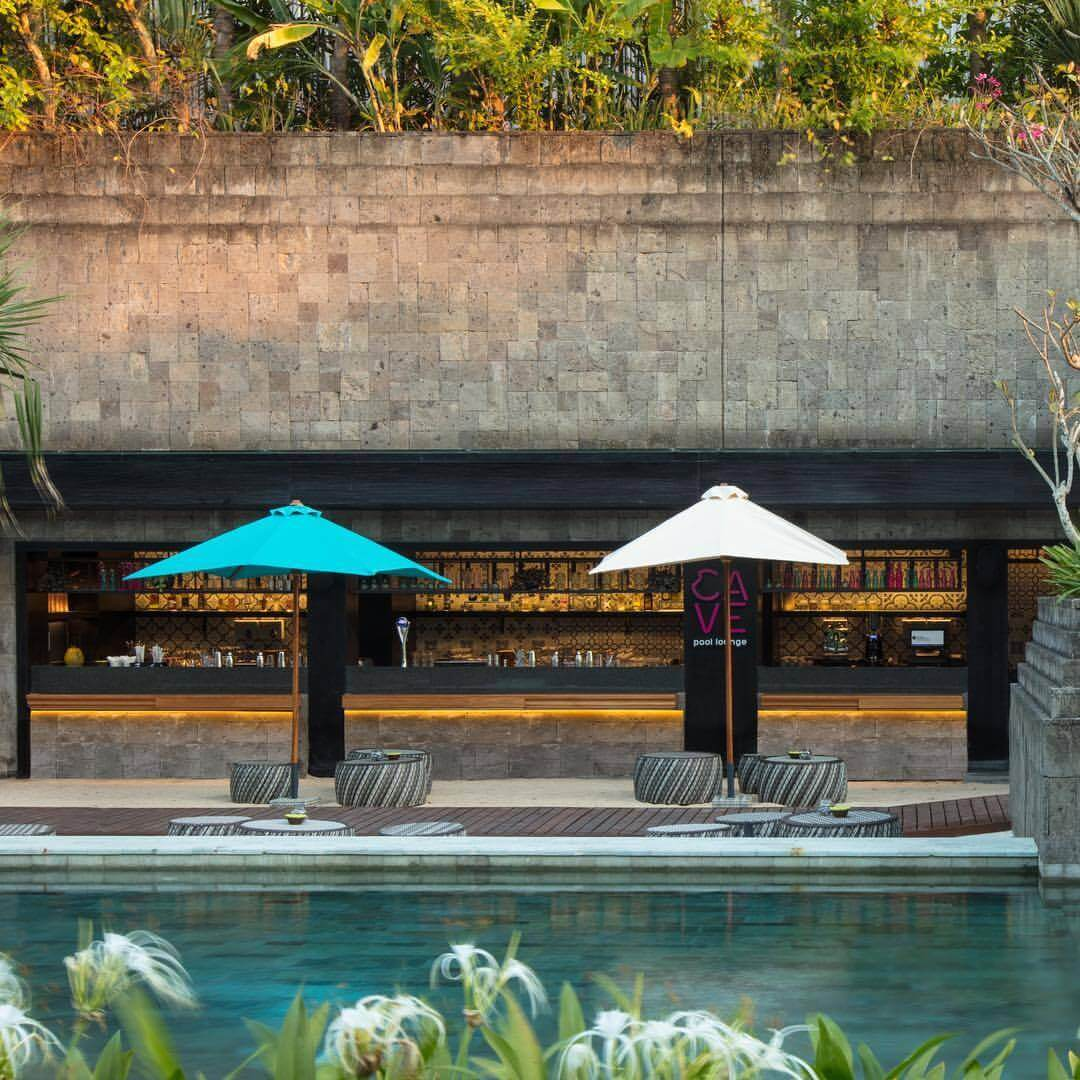 Cave Pool Lounge at Hotel Indigo Bali