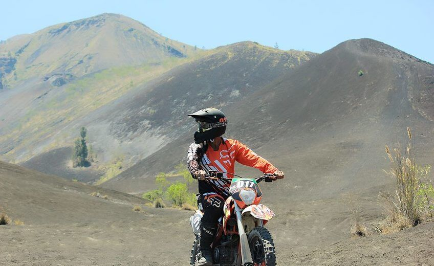 Dirt Bike Adventure in Mount Batur