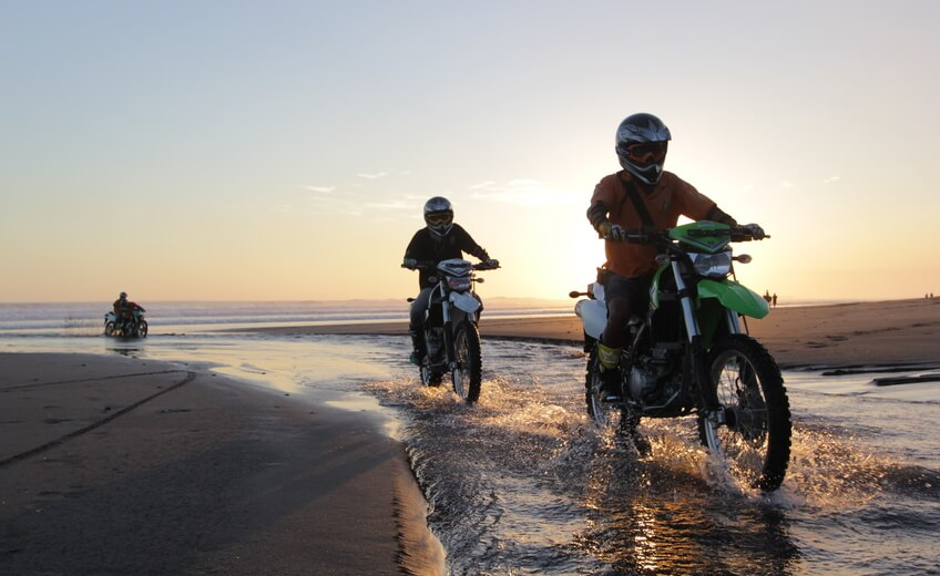 Dirt Bike Tour at Yeh Gangga Beach