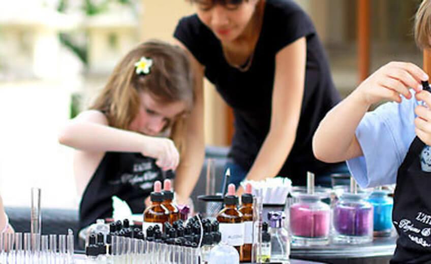 Perfume Workshop for Children in Jimbaran