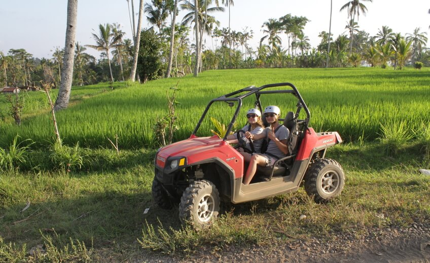 Ubud Quad or Buggy Tour (Adult Tandem)
