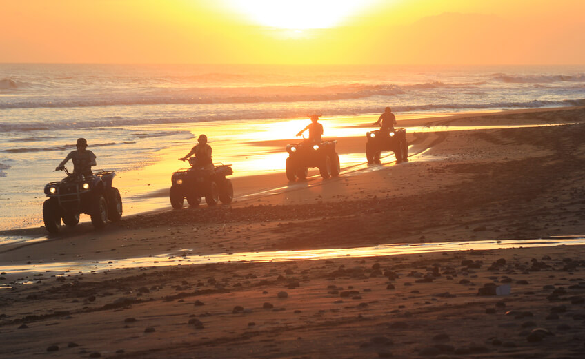 1 Hour ATV Riding Experience at Yeh Gangga Beach