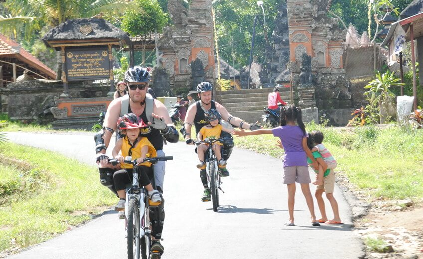 Cycling Tour Adventure from Kintamani Volcano to Ubud