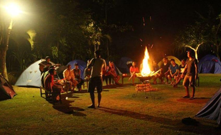 Camping experience In Bali's Countryside