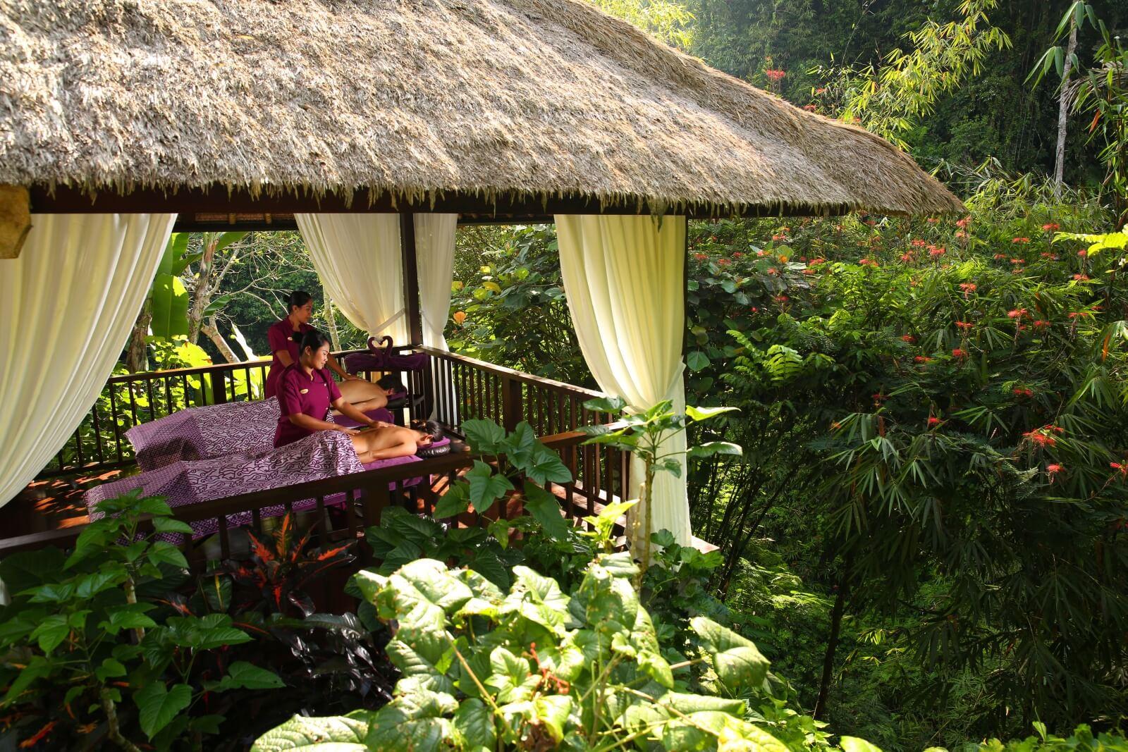 Spa at Hanging Gardens of Bali