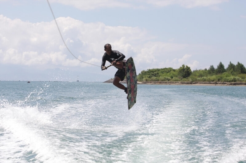 Wakeboarding Session with a Private Boat in Sanur