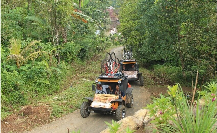 ATV to Munduk Hidden Waterfall