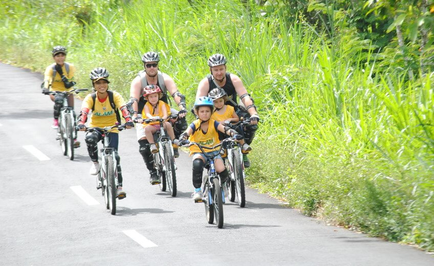 Cycling Tour Adventure from Kintamani Volcano to Bambang