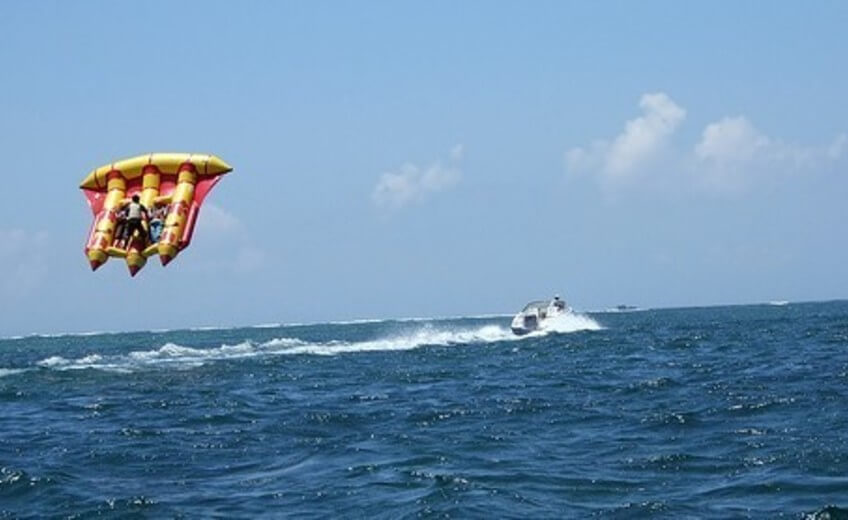 Watersports Package with Underwater Scooter Riding, Sea Walk & Fly Fish
