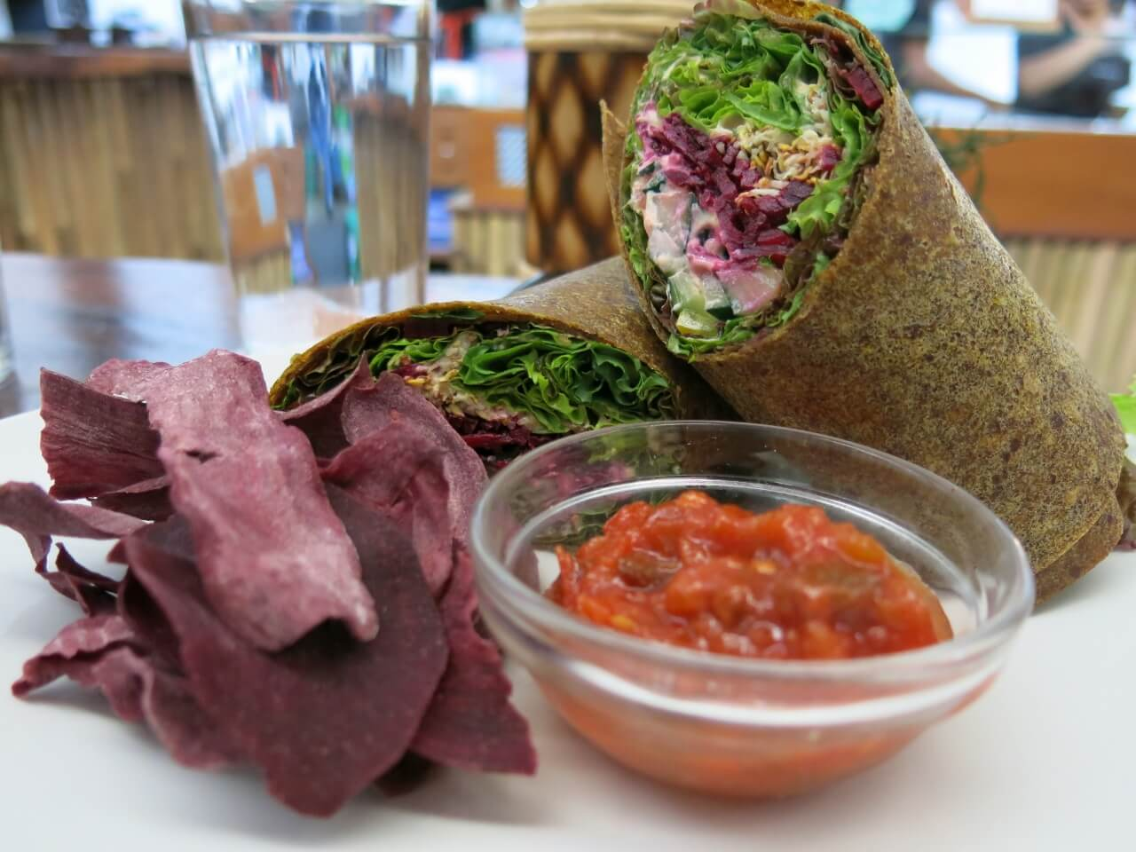 The Seeds Of Life Cafe In Ubud