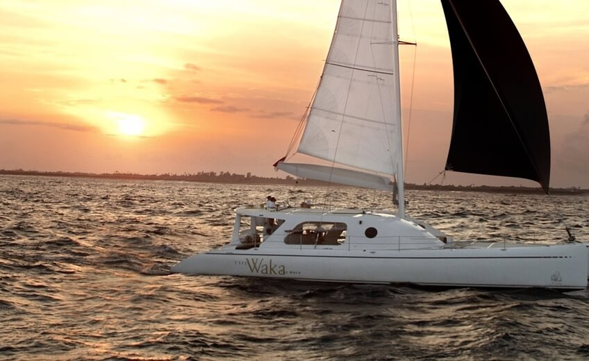 Romantic Sunset Cruise on a Private Catamaran