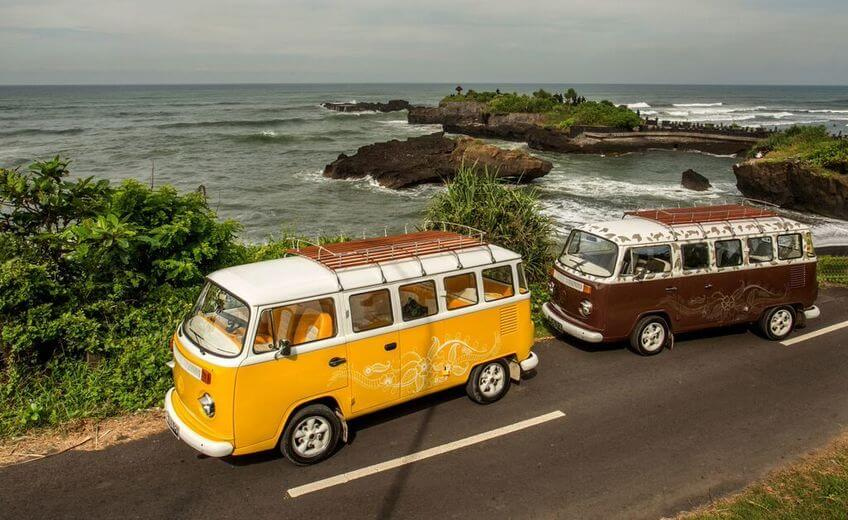 Bali Road Trip & Cocktails by VW Kombi