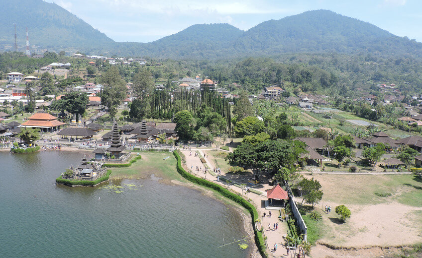 60-Minutes Bedugul Lakes Helicopter Tour