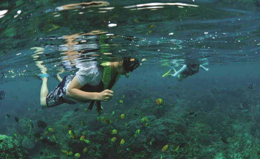 Snorkeling & Glass Bottom Boat Tour on Lembongan Island (from Bali)