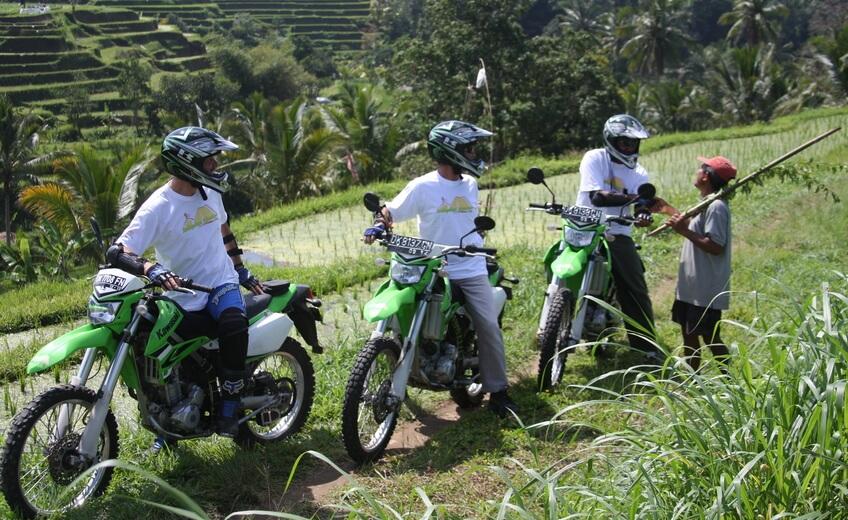 Motorbike Tour Kawasaki KLX 250 - From Mt. Batur To Ubud