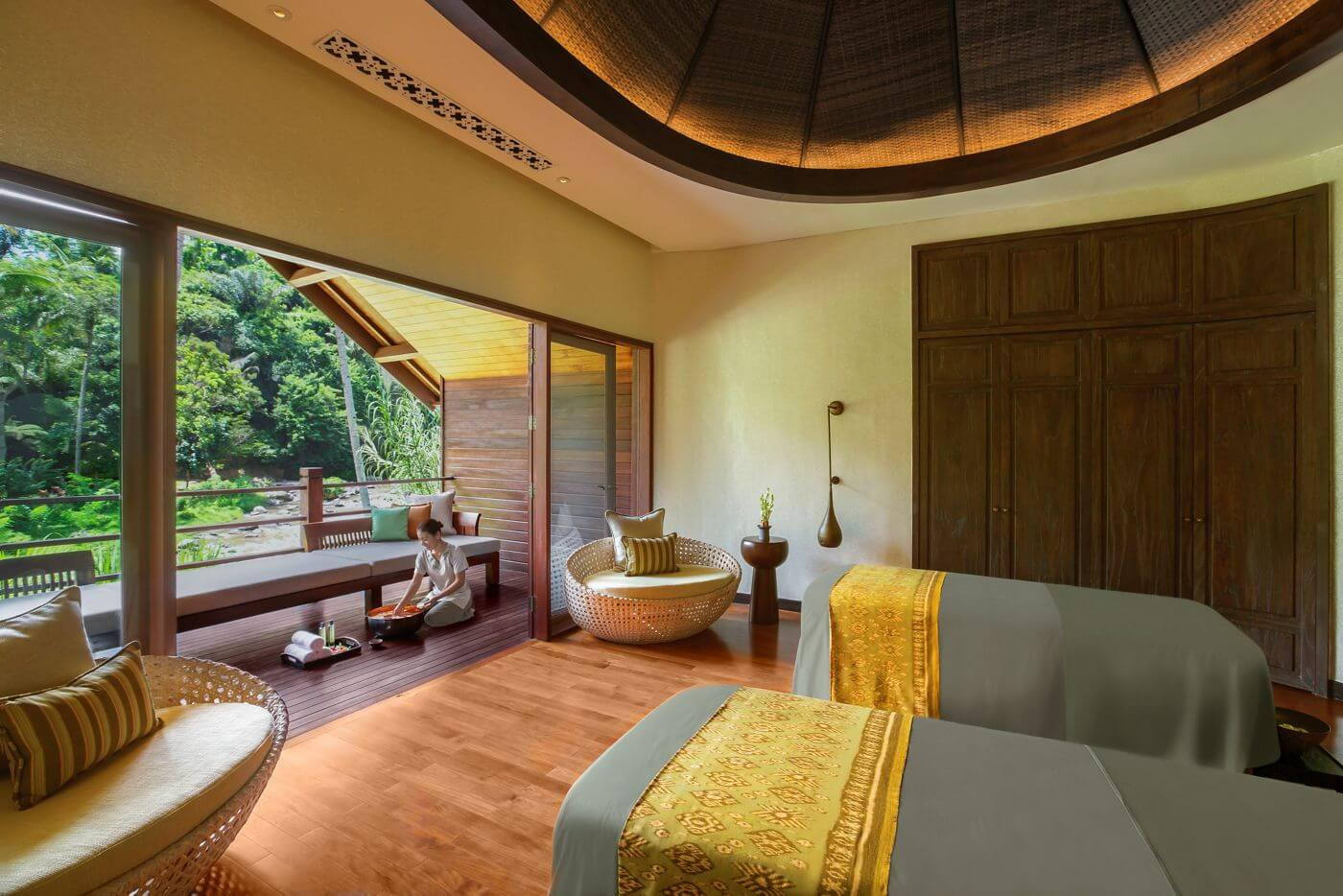 Mandapa Spa Ubud at Ritz Carlton Ubud