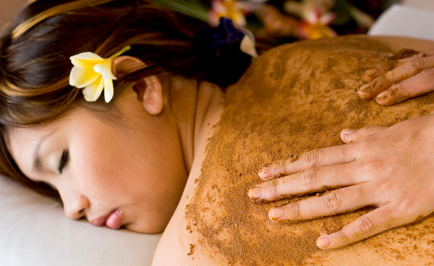 3 Days Course of Massage and Javanese Lulur Body Scrub