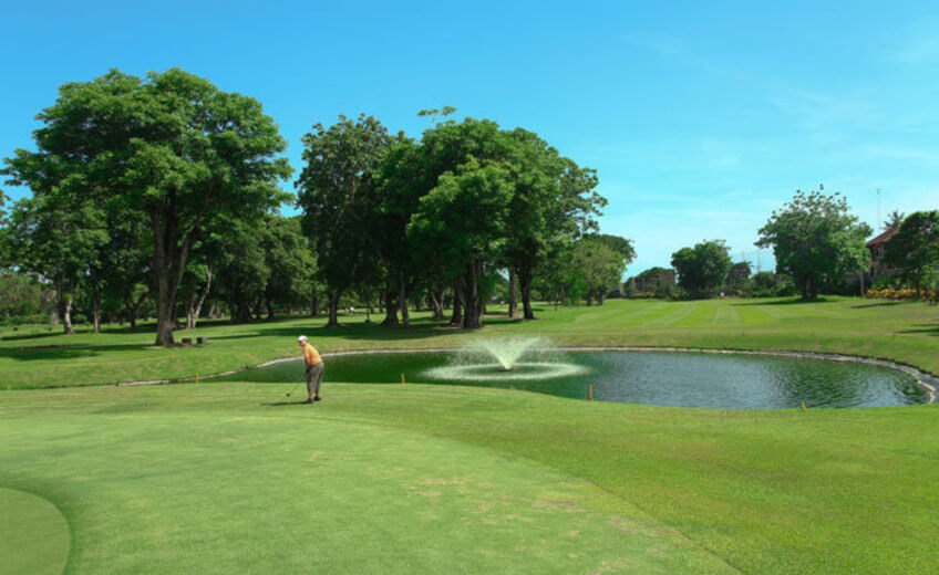 2 x 9 Holes Golf Session at Bali Beach Golf Course in Sanur