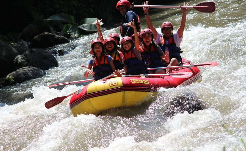 Rafting Experience on Ayung River