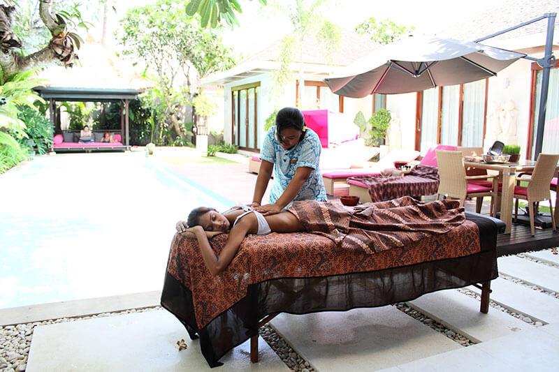 Massage and Yoga at Chandra Villa