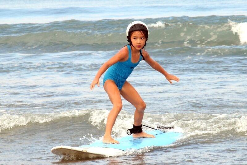 Surf Lesson for Children in Legian Beach