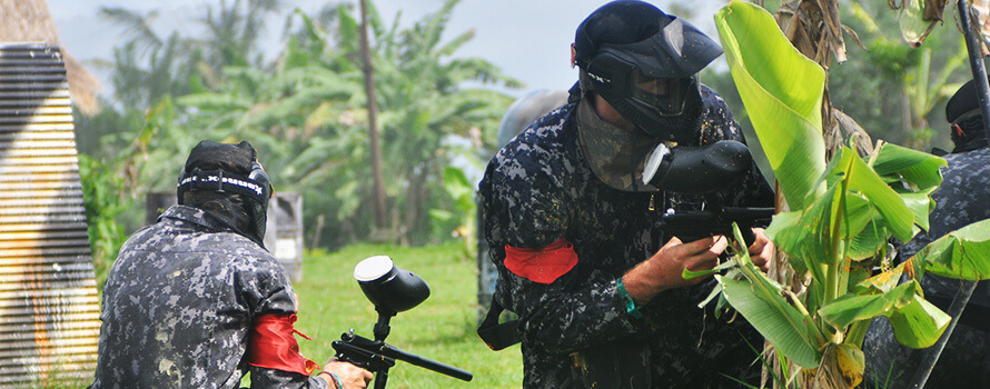 Paintball in Ubud