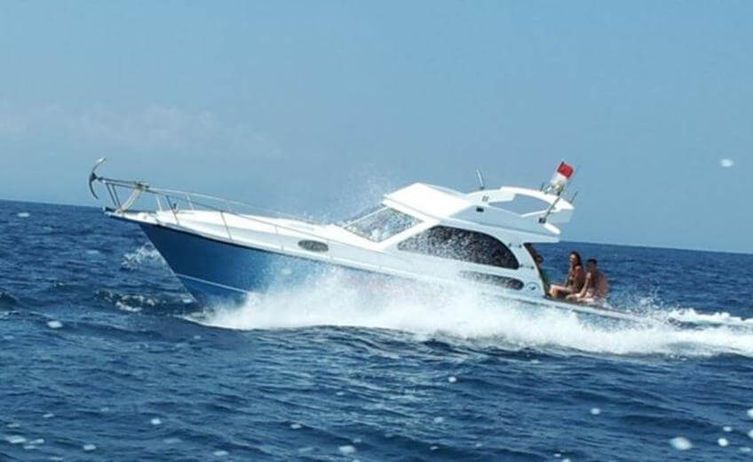 Speed Boat And Fishing In Bali