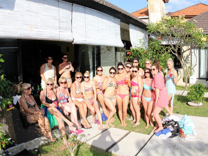 Ultimate Bachelorette Party In Private Villa