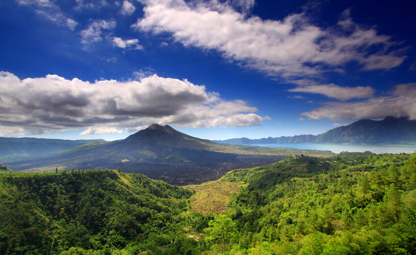 Mount Batur Downhill Cycling and Ayung White Water River Rafting