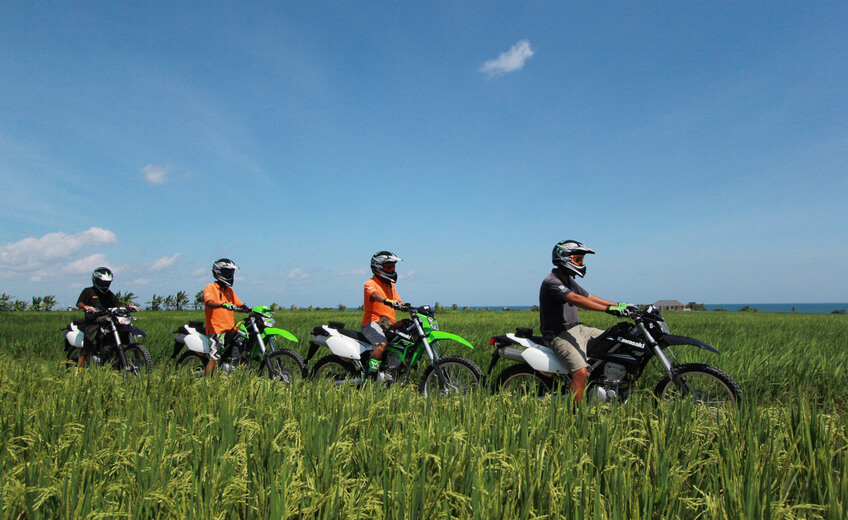 Full Day Dirt Bike Tour in the East of Bali