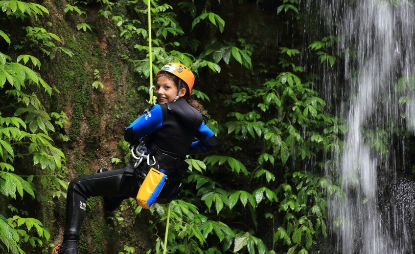 Discovery Canyoning In Kalimudah