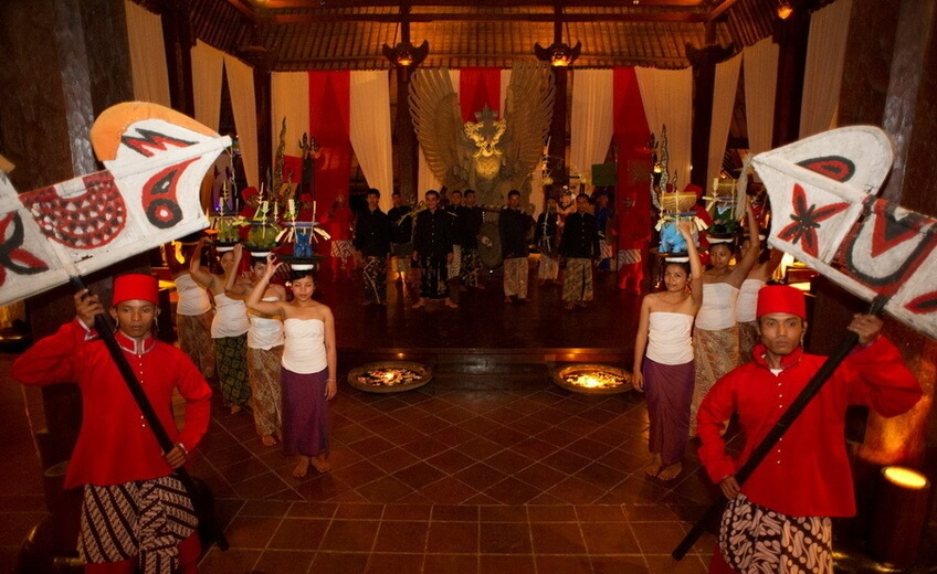 Grand Ceremonial Dining of Majahapit Kingdom