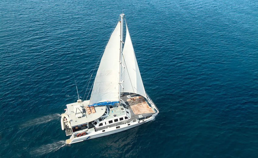 Cruise to Lembongan Island Aboard a Catamaran (from Bali)