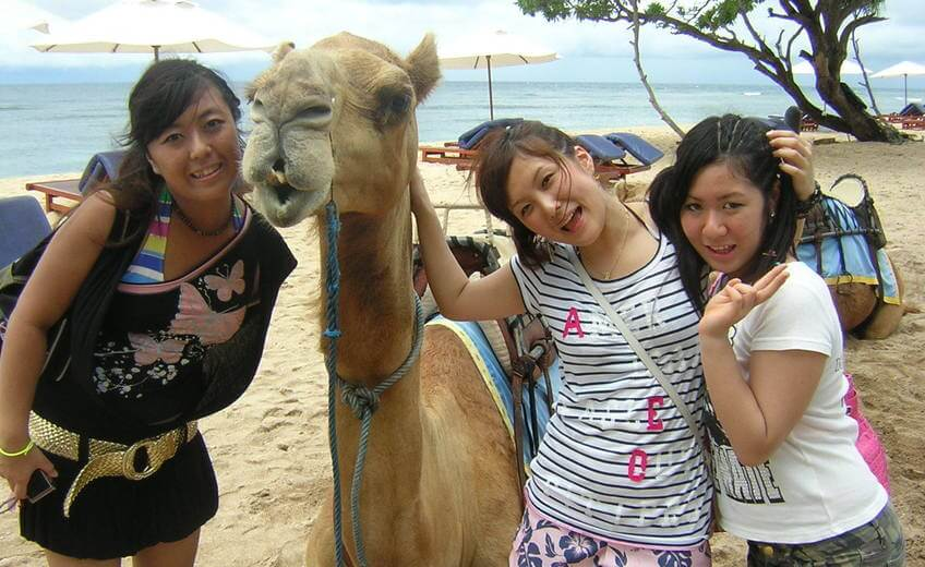 Camel Ride & Water sport Package