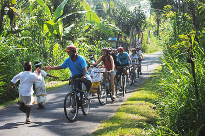 Half Day Lombok Bike Tour - Pengsong Temple Route