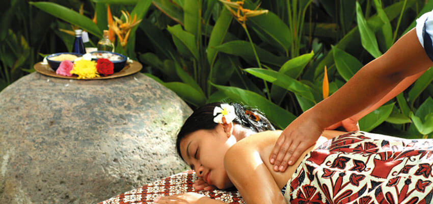 Tropical Spa at Kori Ubud Resort